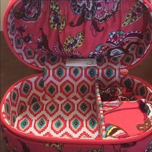 Vera Bradley travel jewelry holder
